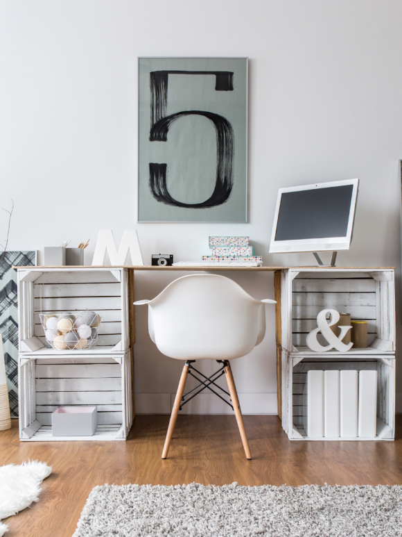 organized office space