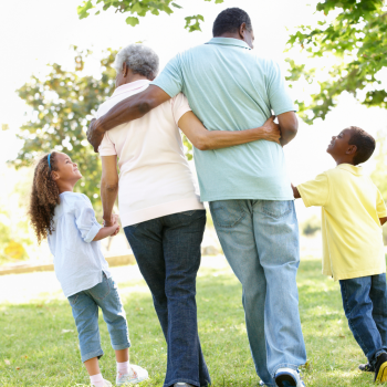children benefiting from being with grandparents